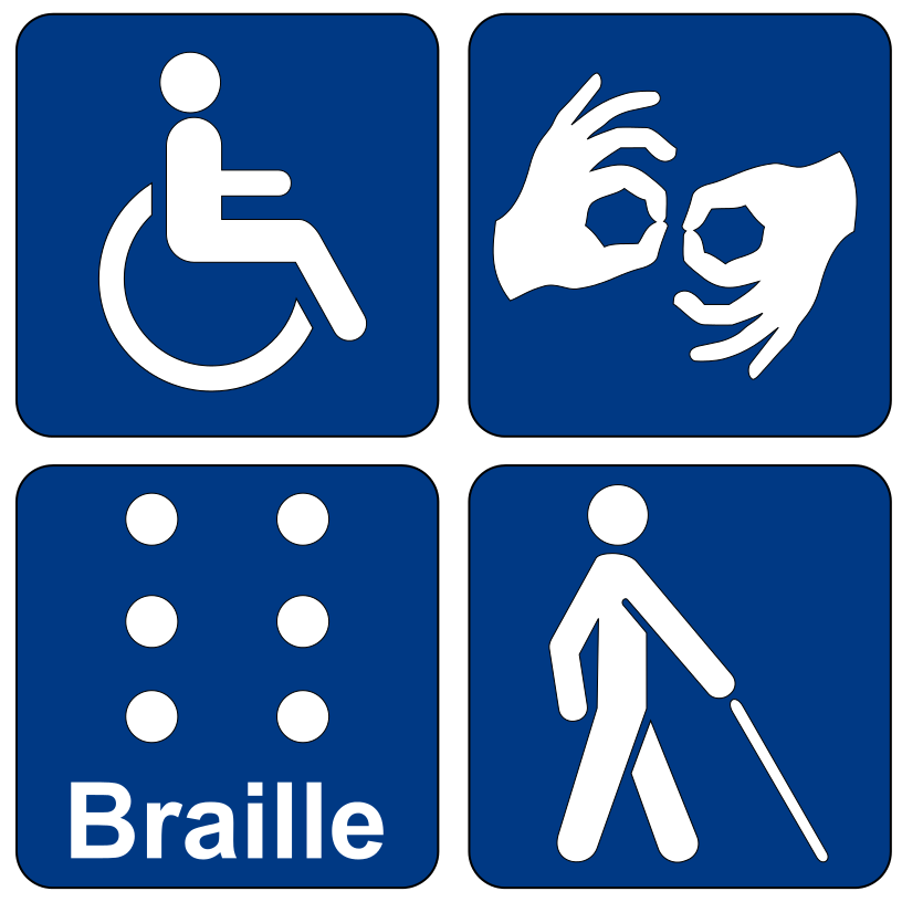 Symbols of disability