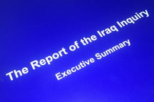 Front cover or Iraq Inquiry Report