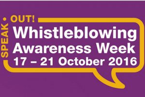 Whistleblowing Awareness Week logo 2016