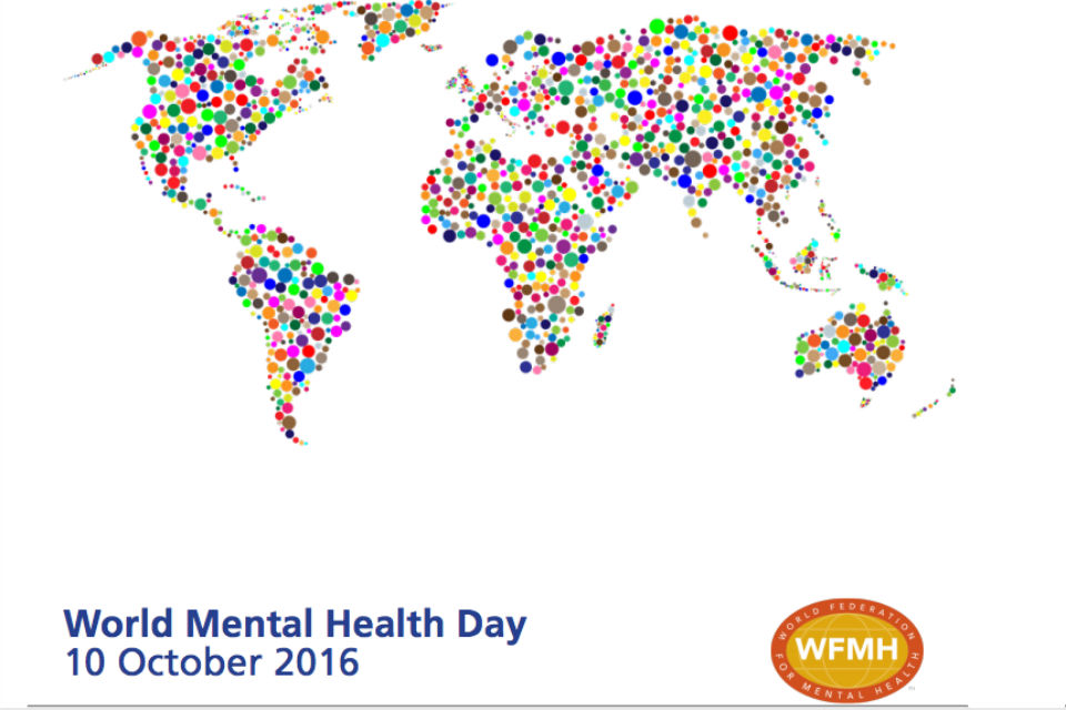 World Mental Health Day 2016 graphic