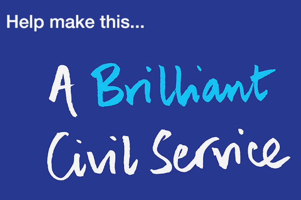 Graphic - Help make this... A Brilliant Civil Service