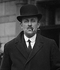 Head and torso of Maurice Hankey