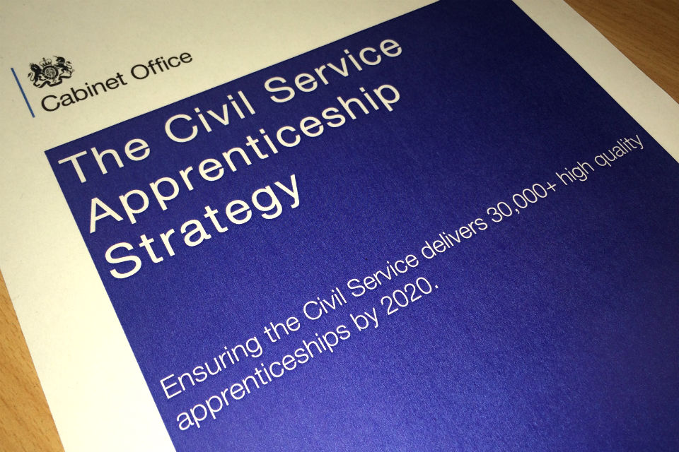 Front cover of Civil Apprenticeship Strategy