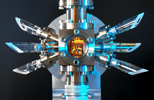 Image of an ion trap device