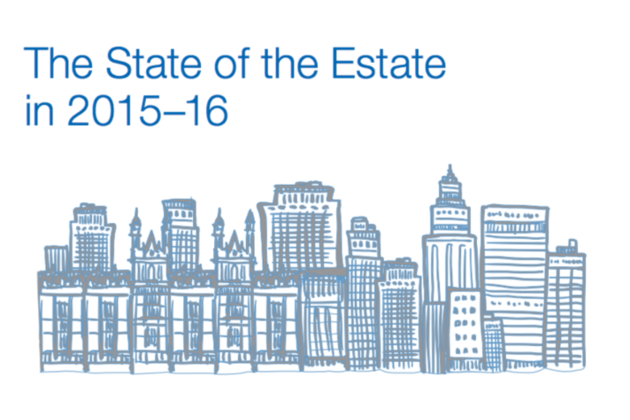 Front cover of The State of the Estate report 2015-16
