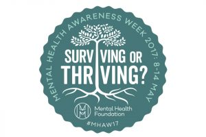 Mental Health Awareness Week 2017 Badge