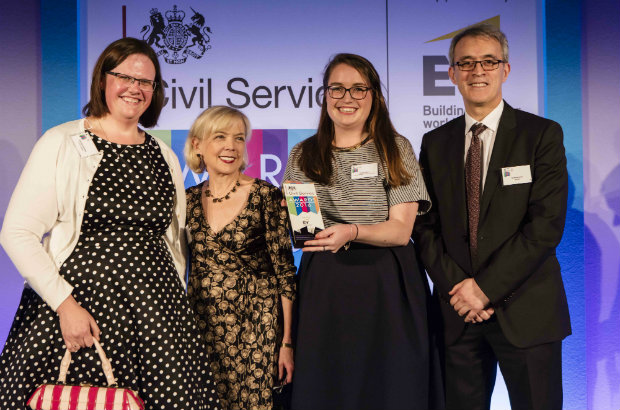 Winners of the Civil Service Diversity and Inclusion Award 2016