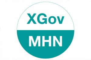 Logo for the cross-government mental health network