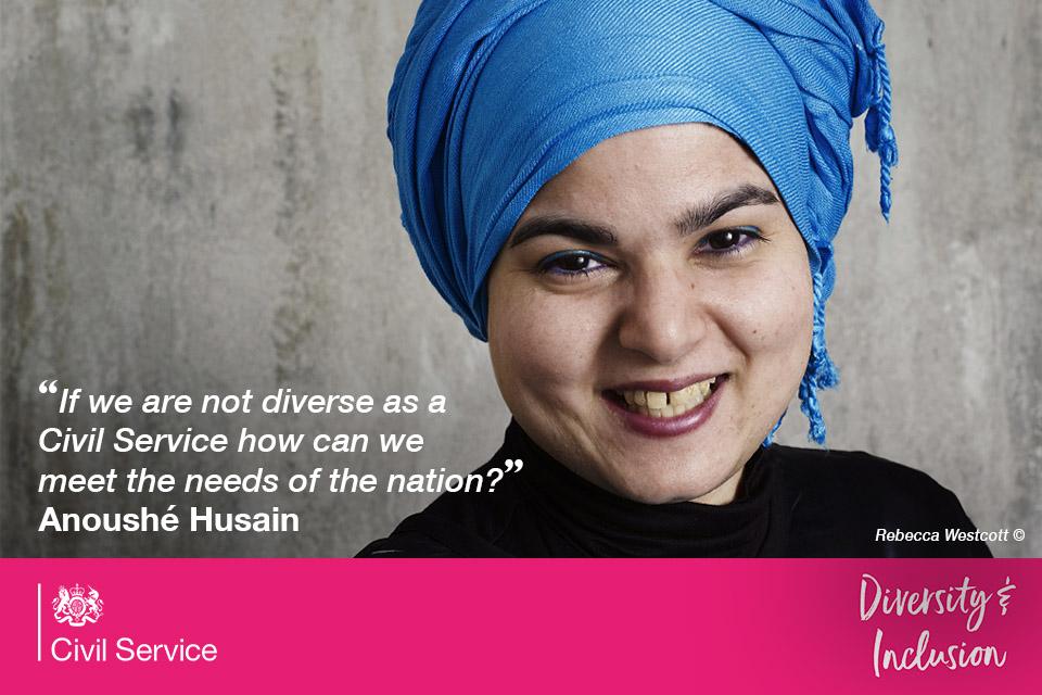 Anoushé Husain Anoushé Husain on diversity and inclusion