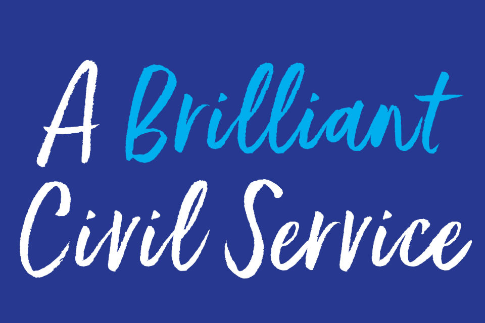 Logo for 'A Brilliant Civil Service'