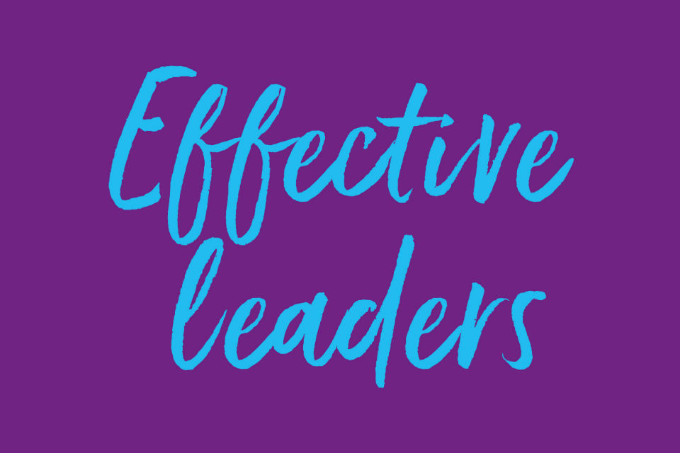 Logo for 'Effective leaders'