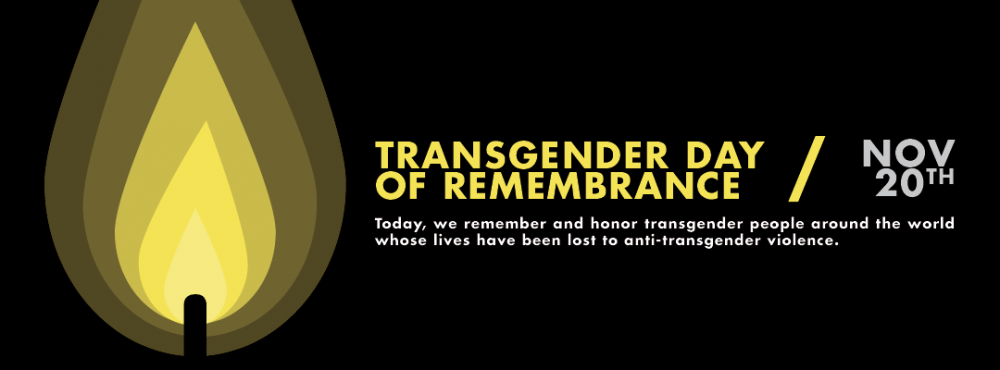 Transgender Day of Remembrance graphic