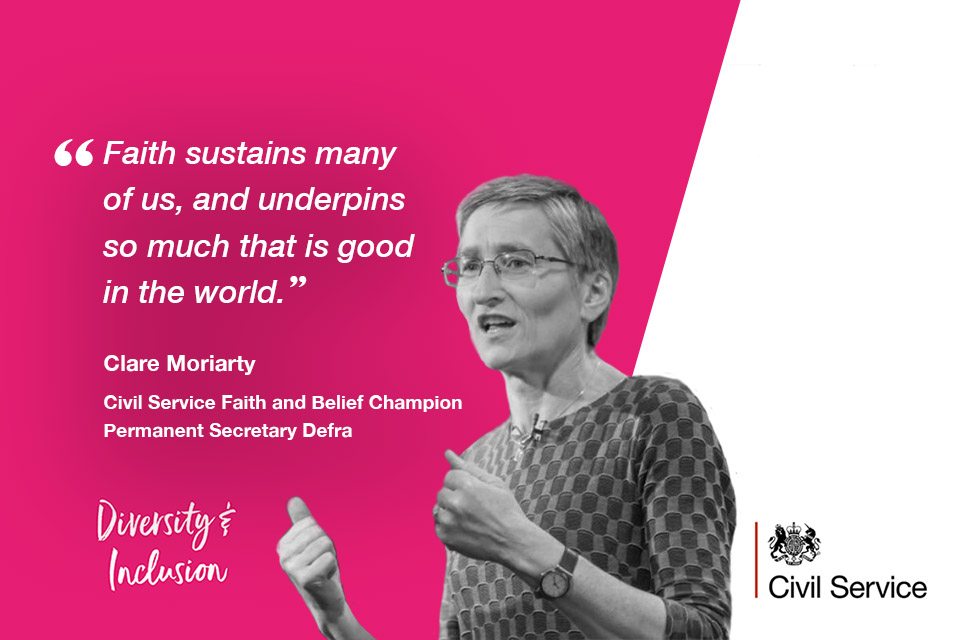 Clare Moriarty, CS Faith and Belief Champion