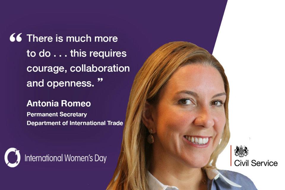 Antonio Romeo on International Women's Day