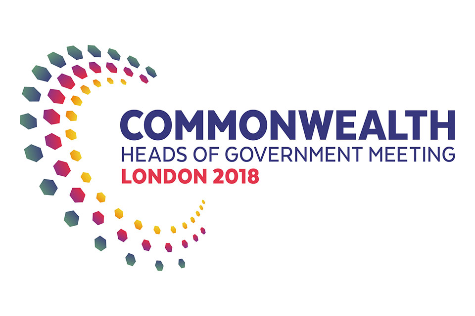 Commonwealth Heads of Government Meeting 2018 logo