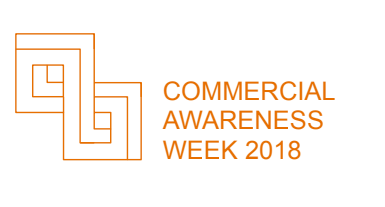 Logo for Commercial Awareness Week 2018