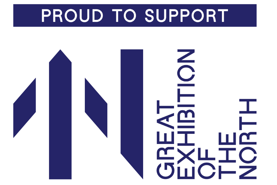 Great Exhibition of the North support logo