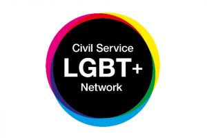 Civil Service LGBT+ Network logo