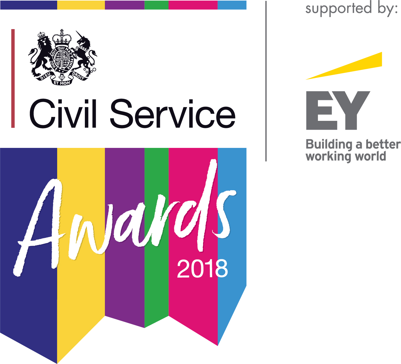 Civil Service Awards 2018 logo