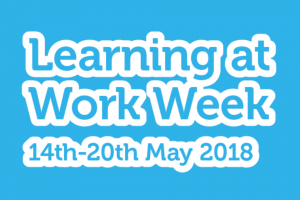 Learning at Work Week 2018 graphic