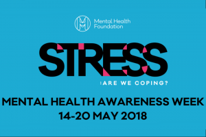 Mental Health Awareness Week 2018 graphic