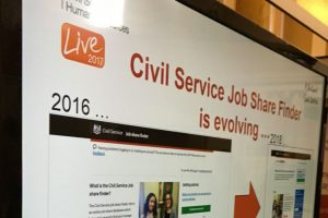HR stand at Civil Service Live