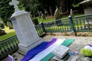 Grave of suffragette Emily Wilding Davison