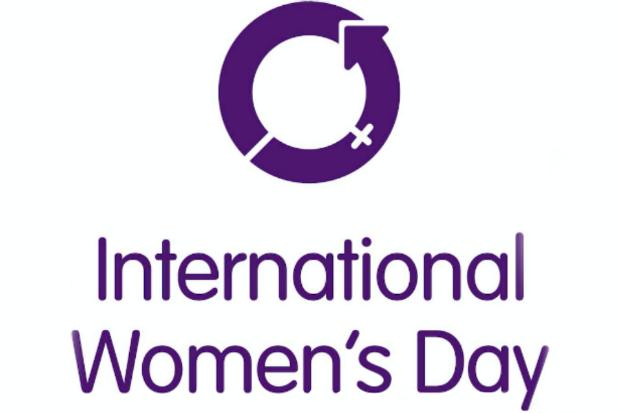 Logo of International Women's Day