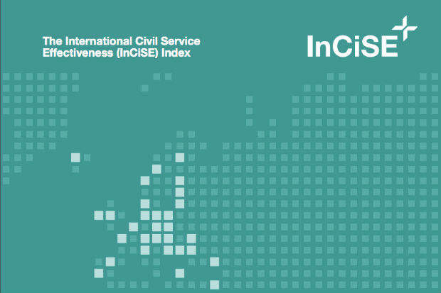 Detail from the front cover of the 2019 International Civil Service Effectiveness (InCiSE) Index