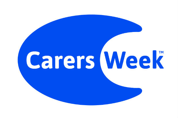 The logo of Carers Week