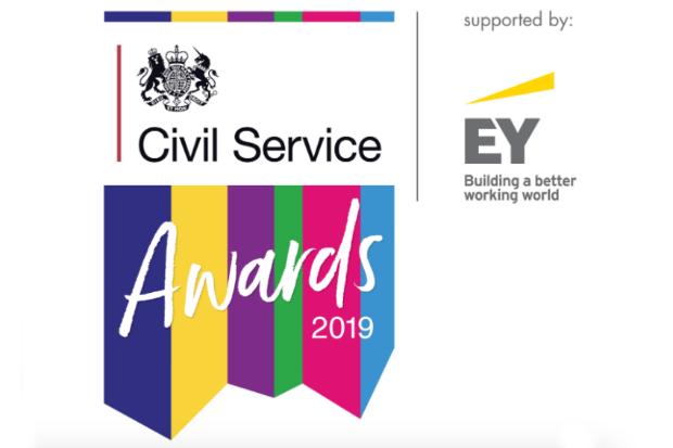 The Civil Service Awards 2019 logo