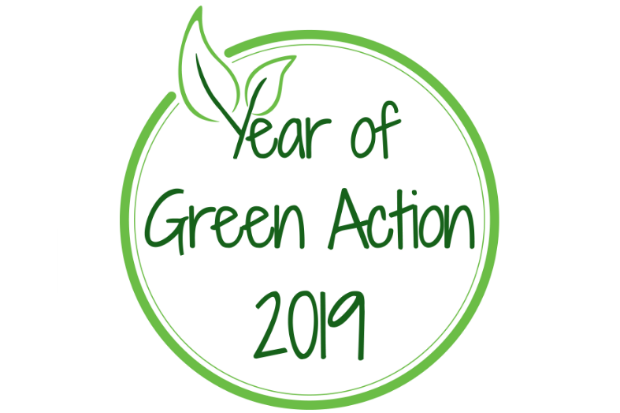 Logo of the Year of Green Action 2019