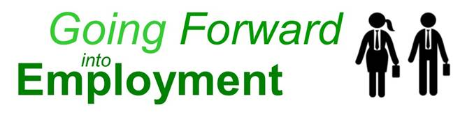 Logo of the 'Going Forward into Employment' programme