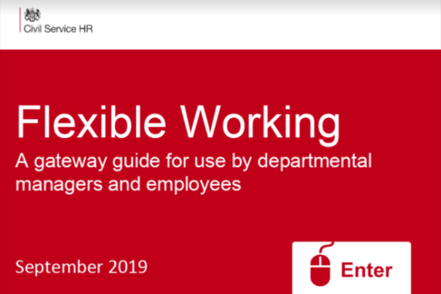 Screenshot of the Flexible Working gateway guide