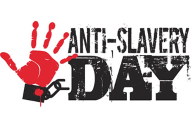 Anti-Slavery Day logo