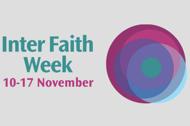 Logo of Inter Faith Week 2019