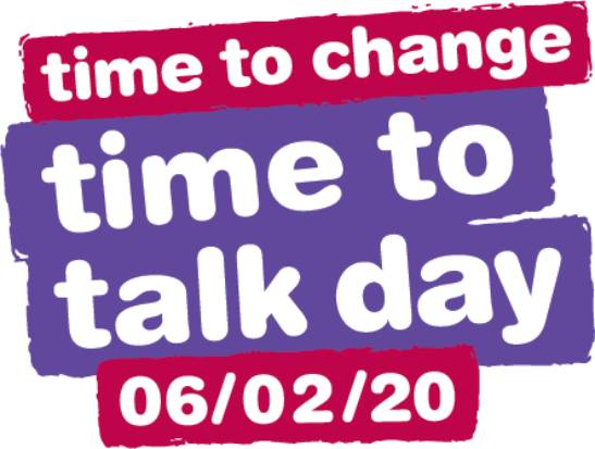 Logo for Time to Talk Day, 6 February 2020