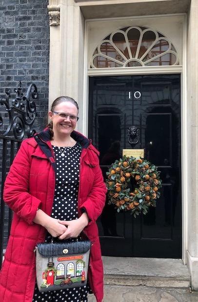 Keela Shackell-Smith visits No.10 Downing Street