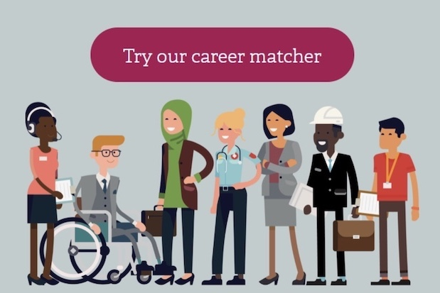 Try our Career Matcher website