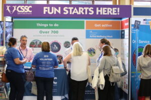 CSSC stand at Civil Service Live