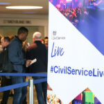 A stand at Civil Service Live