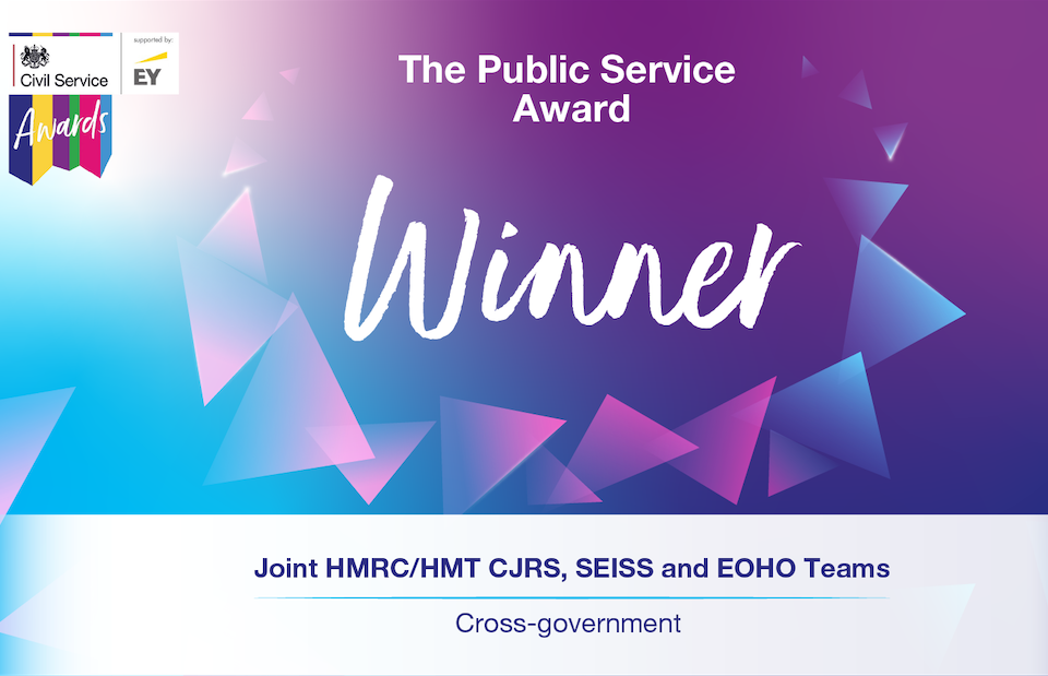 Civil Service Awards Winner, Public Service Award