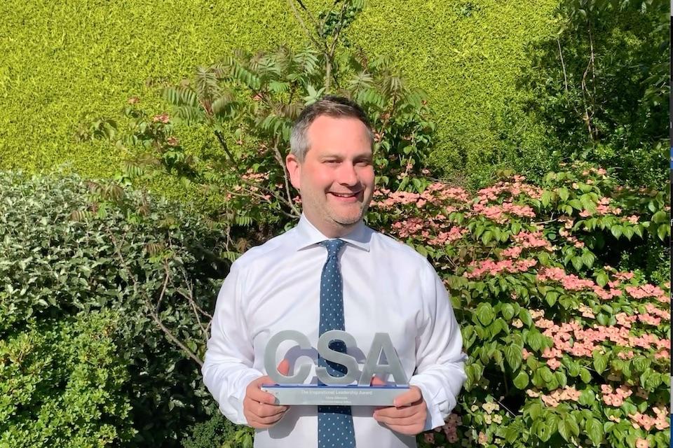 Civil Service Award Winner, Chris Atkinson