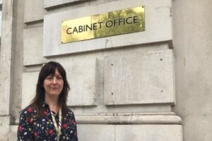 Amy Holmes, Cabinet Office