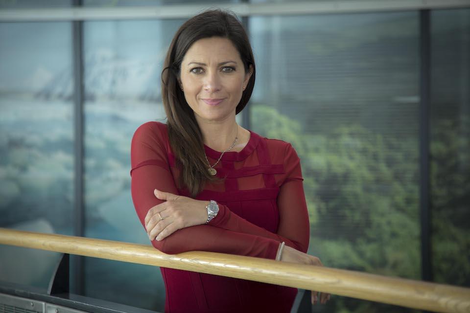 TV meteorologist Clare Nasir