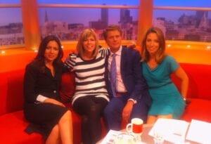 Clare Nasir on GMTV