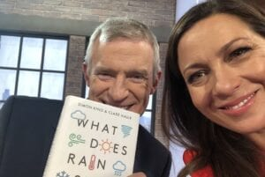 Clare Nasir with TV presenter Jeremy Vine