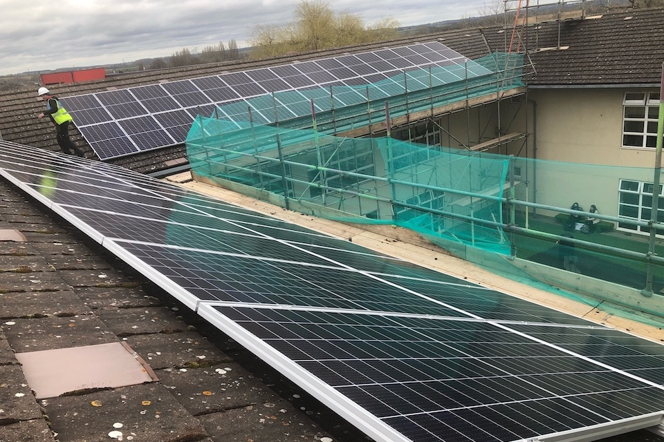Image of Royal Latin solar panels