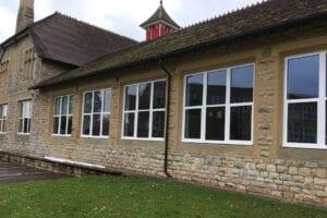 Royal Latin stable block new windows
