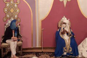 Gill Atkinson makes a courtesy call on HHRH The Emir of Ilorin